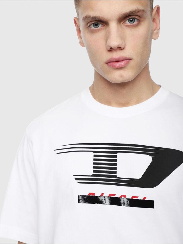 Diesel - T-JUST-Y4, Weiß - T-Shirts - Image 3