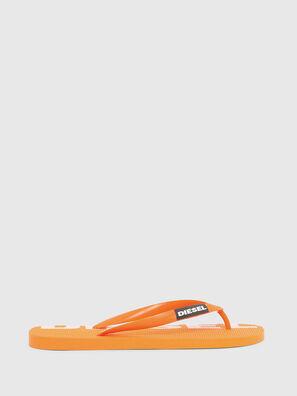 SA-BRIIAN, Orange - Pantoletten