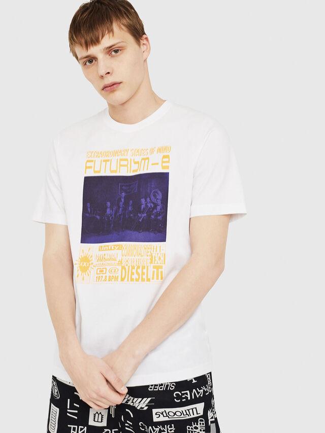 Diesel - T-JUST-Y16, Weiß - T-Shirts - Image 1