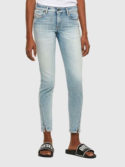 Diesel - D-Jevel 009PQ, Hellblau - Jeans - Image 1