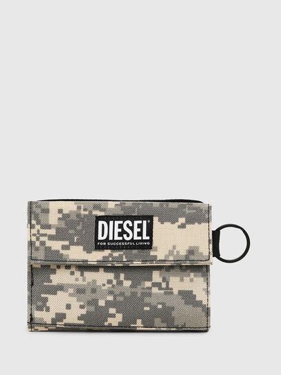 Diesel - YOSHI, Grau - Kleine Portemonnaies - Image 1