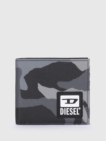 Diesel - HIRESH S, Grau/Schwarz - Kleine Portemonnaies - Image 1