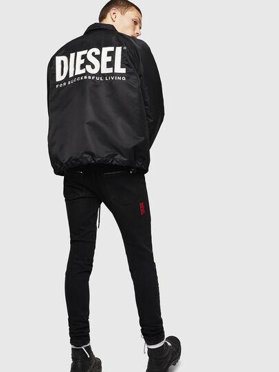 Diesel - J-AKIO-A, Schwarz - Jacken - Image 6