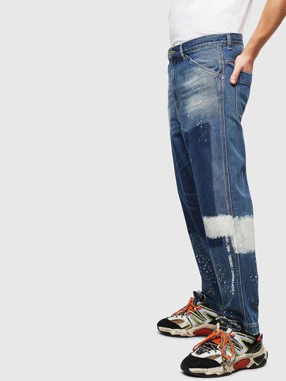 Diesel - D-Franky 009CB, Mittelblau - Jeans - Image 5