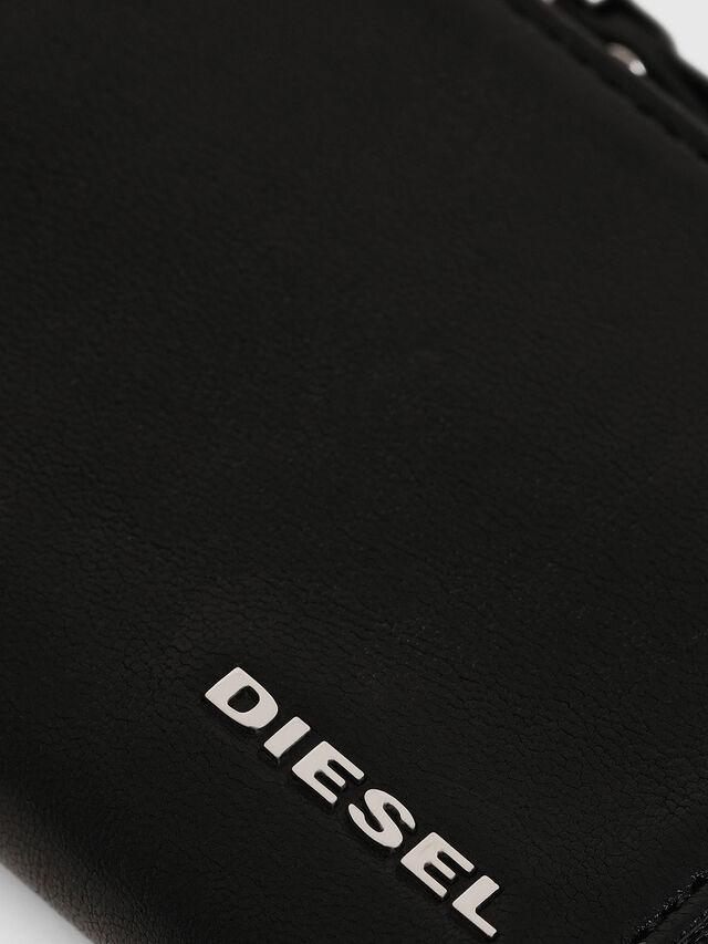 Diesel - L-PASSME, Schwarz - Kleine Portemonnaies - Image 3