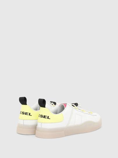 Diesel - S-CLEVER SO C, Weiss/Gelb - Sneakers - Image 3