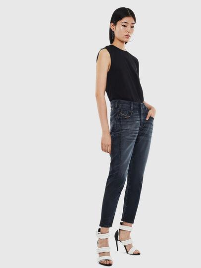 Diesel - Fayza JoggJeans 069MD, Dunkelblau - Jeans - Image 6