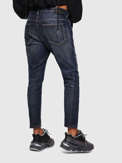 Diesel - Fayza 0096U, Dunkelblau - Jeans - Image 2