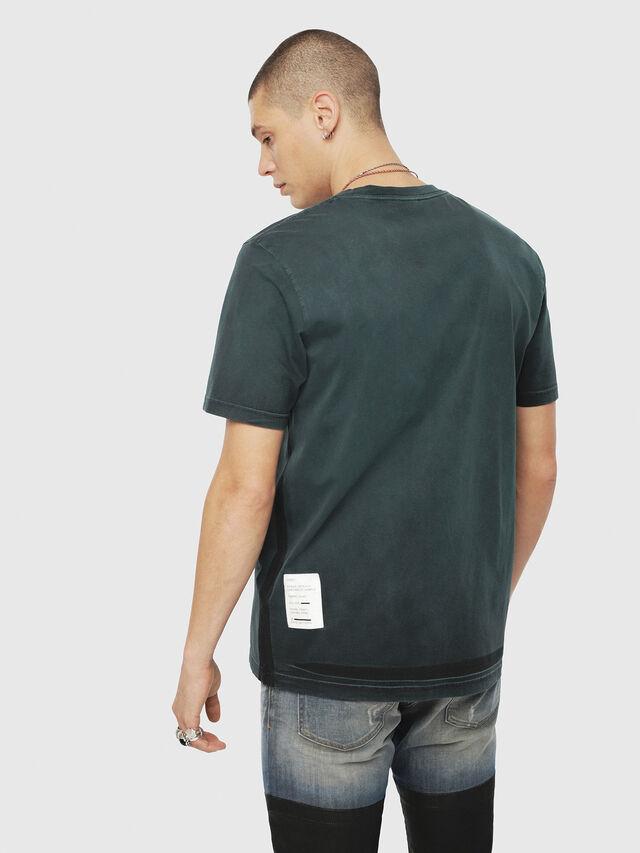Diesel - T-JUST-YS, Dunkelgrün - T-Shirts - Image 2