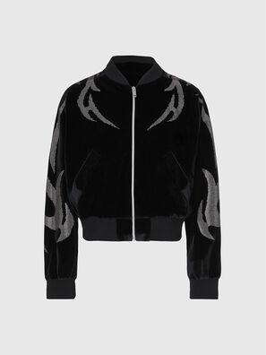 F-CHINIL, Schwarz - Sweatshirts