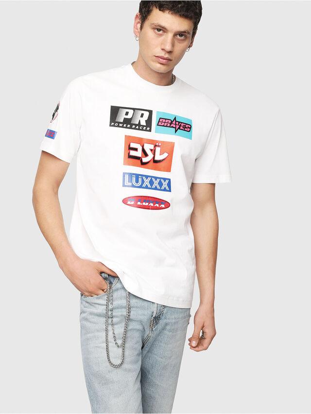 Diesel - T-JUST-YA, Weiß - T-Shirts - Image 1