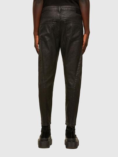 Diesel - FAYZA JoggJeans® 069PG, Schwarz/Orange - Jeans - Image 2