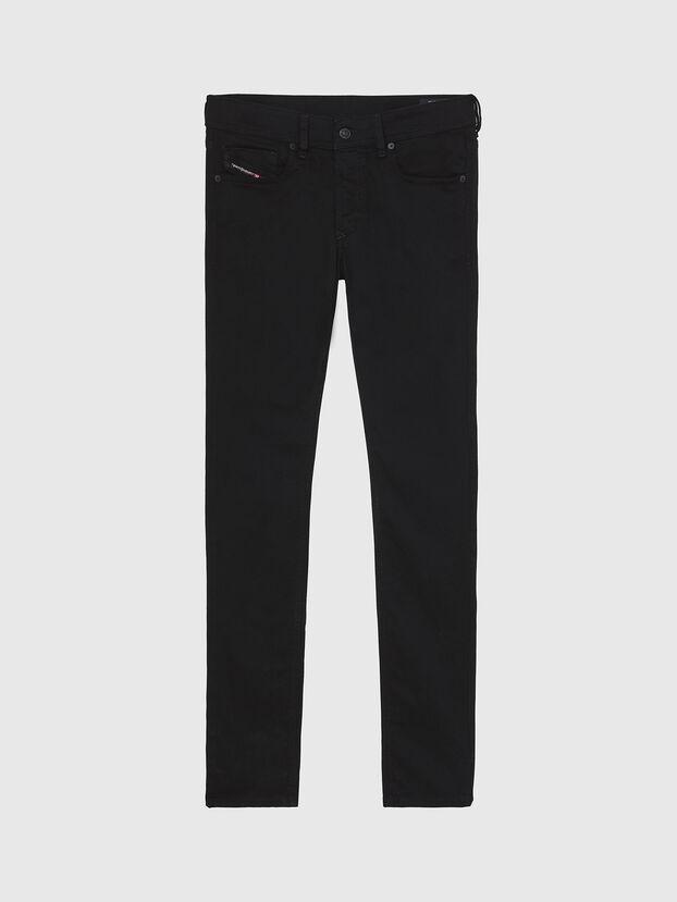 Sleenker A69EI, Schwarz/Dunkelgrau - Jeans