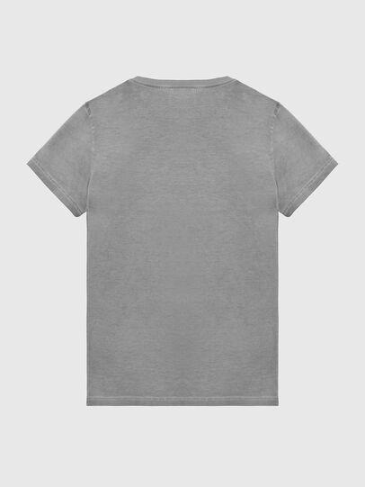 Diesel - T-DIEGO-LOGO, Dunkelgrau - T-Shirts - Image 2