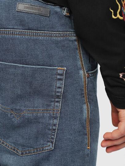 Diesel - Krooley JoggJeans 084UB, Mittelblau - Jeans - Image 5