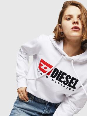 F-GIR-HOOD-DIVISION-, Weiß - Sweatshirts