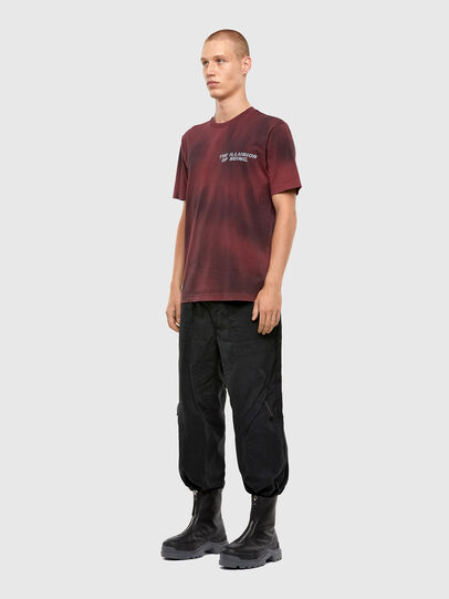 Diesel - T-JUST-N47, Braun - T-Shirts - Image 5