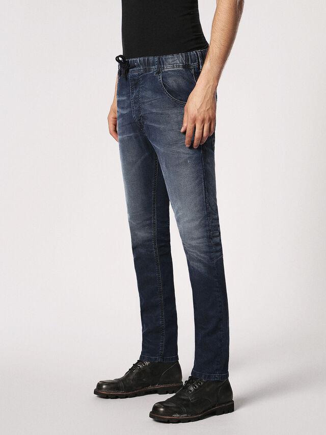 Diesel Krooley JoggJeans 0683Y, Dunkelblau - Jeans - Image 7
