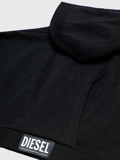 Diesel - UFLT-ANGHEL, Schwarz - Sweatshirts - Image 4