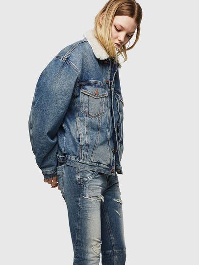Diesel - Fayza JoggJeans 0890A, Hellblau - Jeans - Image 4