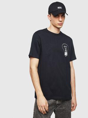 T-JUST-T22, Schwarz - T-Shirts