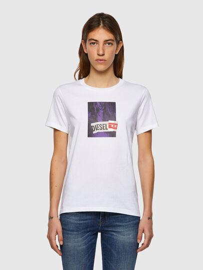 Diesel - T-SILY-B3, Weiß - T-Shirts - Image 1