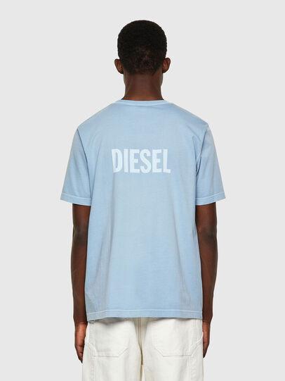 Diesel - T-JUBINDY, Hellblau - T-Shirts - Image 2