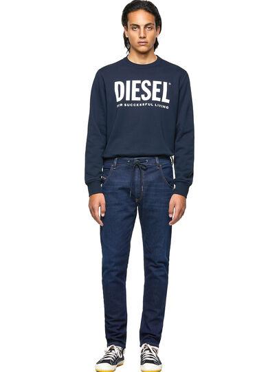 Diesel - Krooley JoggJeans® Z69VI, Dunkelblau - Jeans - Image 5