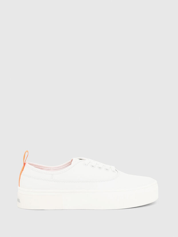 S-VANEELA LOW, Weiß/Orange - Sneakers