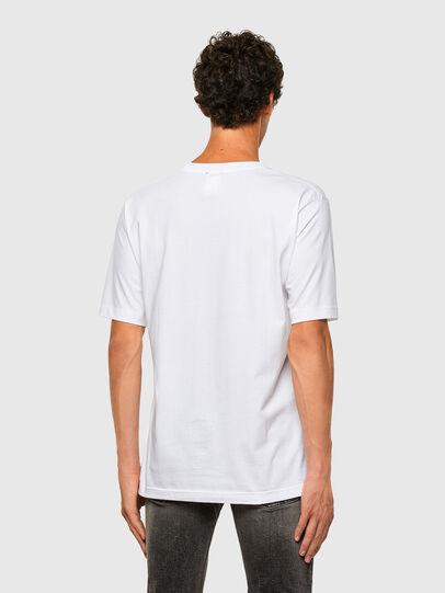 Diesel - T-TUBOLAR-N1, Weiß - T-Shirts - Image 2