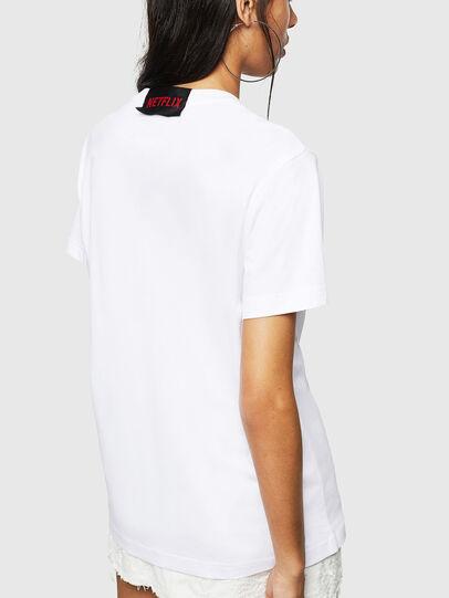 Diesel - LCP-T-DIEGO-BOGOTA, Weiß - T-Shirts - Image 4