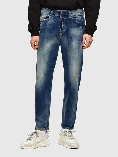 Diesel - D-Vider 009RS, Dunkelblau - Jeans - Image 1