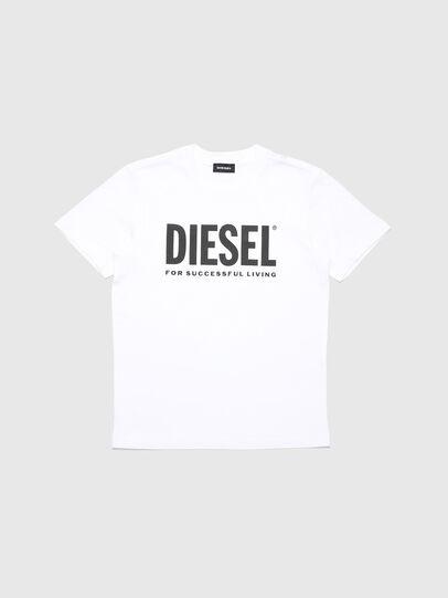 Diesel - TJUSTLOGO, Weiß - T-Shirts und Tops - Image 1