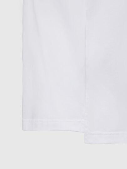 Diesel - T-JUST-SLITS-X83, Weiß - T-Shirts - Image 4
