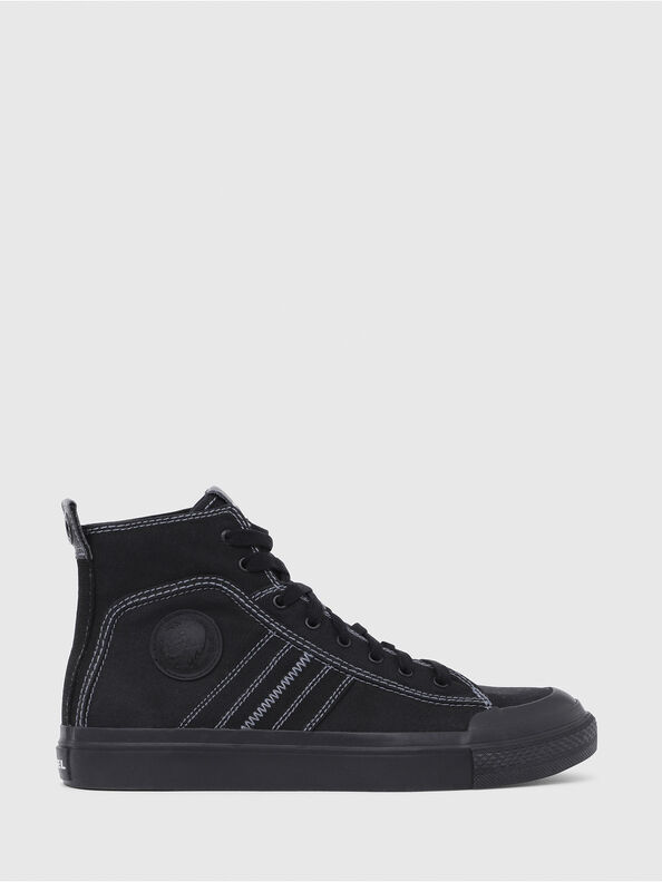 S-ASTICO MID LACE, Schwarz - Sneakers