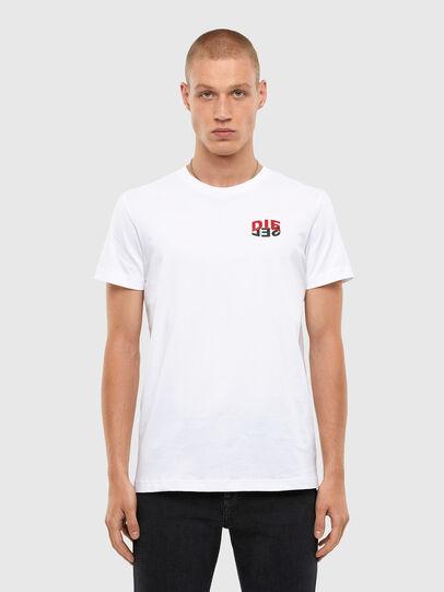 Diesel - T-DIEGOS-N25, Weiß - T-Shirts - Image 1