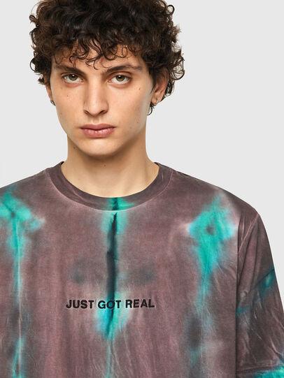 Diesel - T-JUST-B52, Rosa/Grün - T-Shirts - Image 5