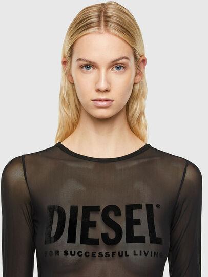 Diesel - UFBY-VALERICK-LS-M, Schwarz - Bodys - Image 3