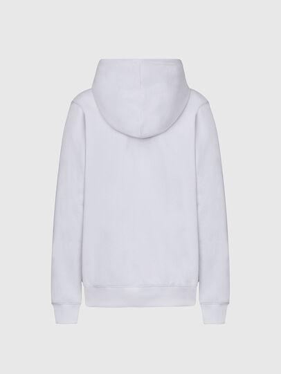 Diesel - F-ANG-HOOD-K21, Weiß - Sweatshirts - Image 2