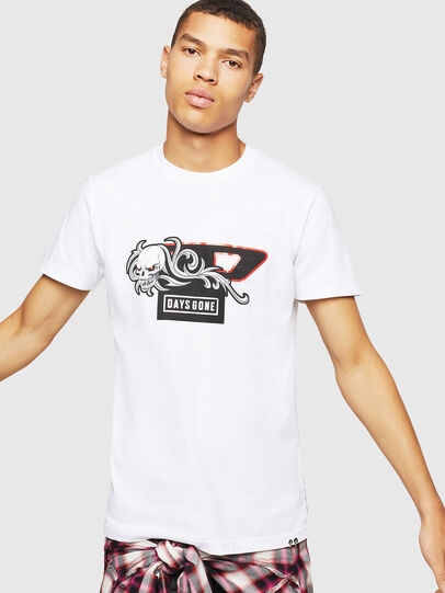 Diesel - PS-T-DIEGO-OCTOSKULL,  - T-Shirts - Image 1