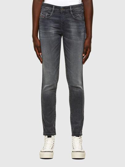 Diesel - D-Ollies JoggJeans® 069QA, Schwarz/Dunkelgrau - Jeans - Image 1