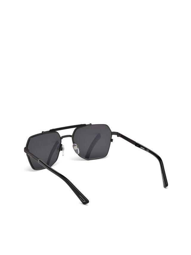 Diesel - DL0256, Schwarz - Sonnenbrille - Image 4