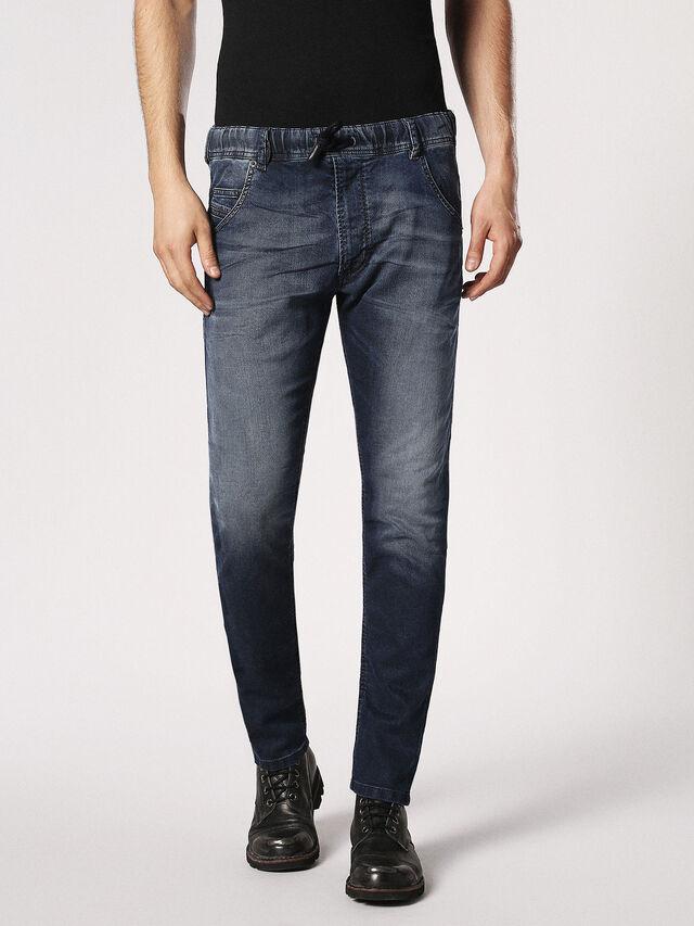 Diesel Krooley JoggJeans 0683Y, Dunkelblau - Jeans - Image 2