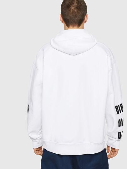 Diesel - S-ALBY-A1, Weiß - Sweatshirts - Image 2