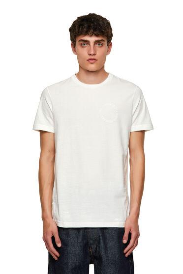 Nachhaltig hergestelltes T-Shirt mit Copyright-Logo