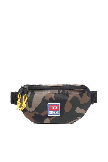 Gürteltextiltasche mit Camouflage-Muster
