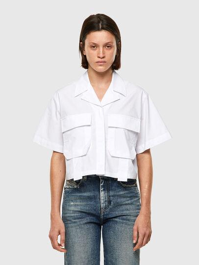 Diesel - C-ADARA-A, Weiß - Hemden - Image 1