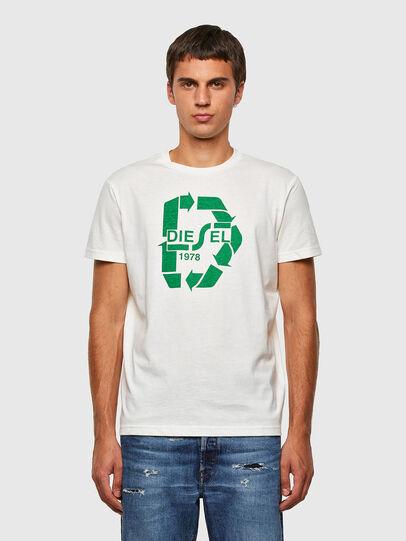 Diesel - T-DIEGOS-N23, Weiß - T-Shirts - Image 1