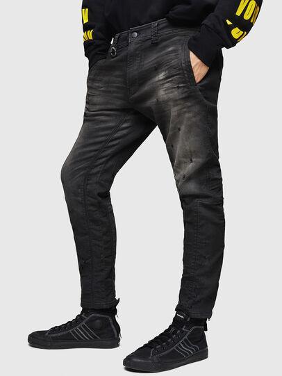Diesel - D-Earby JoggJeans 069GN, Schwarz/Dunkelgrau - Jeans - Image 1