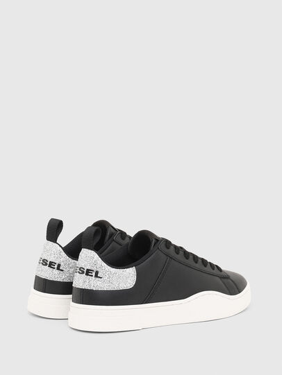 Diesel - S-CLEVER LOW LACE W, Schwarz/Silber - Sneakers - Image 3